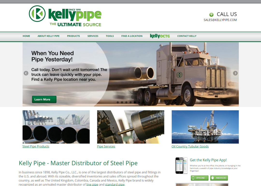 Kelly Pipe
