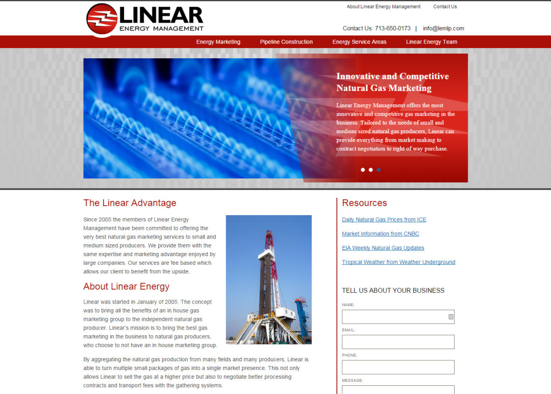 Linear Energy Management